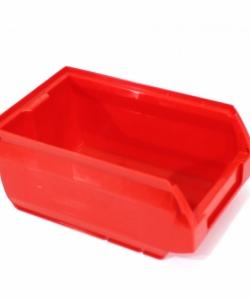 Ящик складской 170х105х75 красный