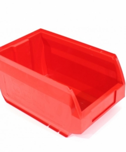Ящик складской 250х150х130 красный