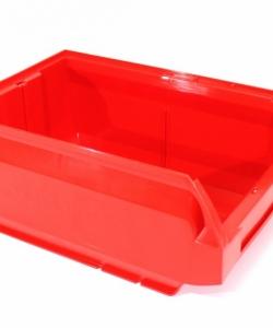 Ящик складской 350х230х150 красный