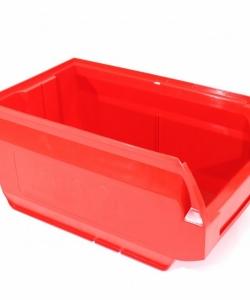 Ящик складской 400х230х200 красный