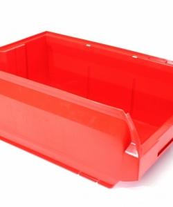 Ящик складской 500х310х200 красный