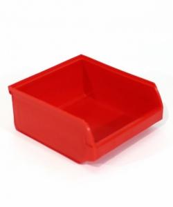 Ящик складской 96х105х45 красный